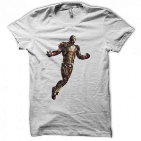 Ironman t-shirt armor 42 white sublimation