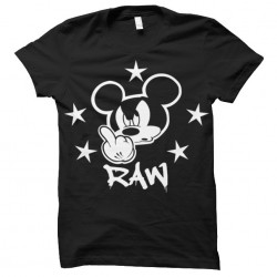tee shirt Mickey RAW...