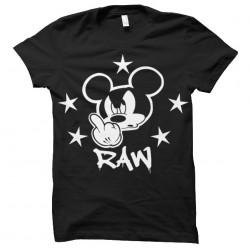 shirt RAW sublimation Mickey