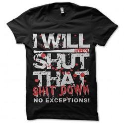 walking shirt dead shut...