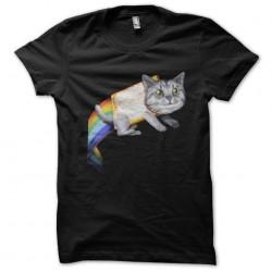 Tee shirt Nyan chat de...