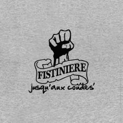 tee shirt la fistiniere logo aux coudes sublimation