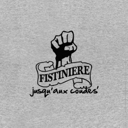 shirt the fistiniere logo at the elbows sublimation