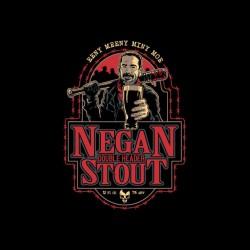 negan shirt beer walking dead sublimation
