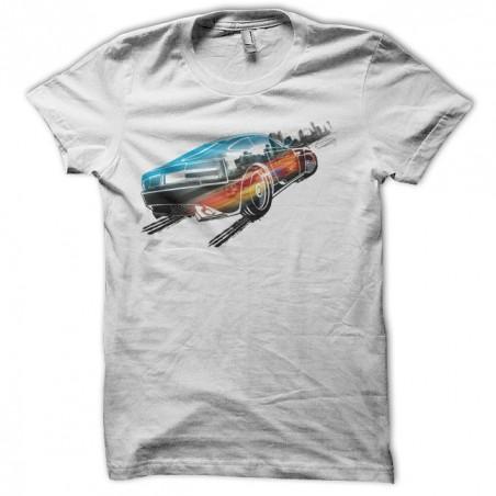 Burnout paradise video games white sublimation t-shirt