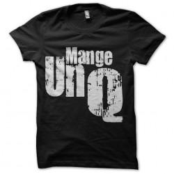 tee shirt mange un q humour...