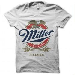 tee shirt miller pilsner biere sublimation