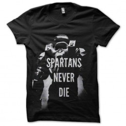 tee shirt spartans never...
