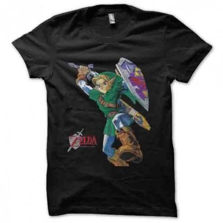 tshirt the legend of black zelda sublimation