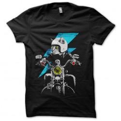 tee shirt chat motard...