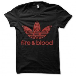 tee shirt fire and blood...