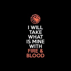 fire blood targaryen shirt game of thrones sublimation