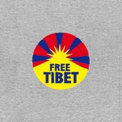 free tibet shirt anti china sublimation