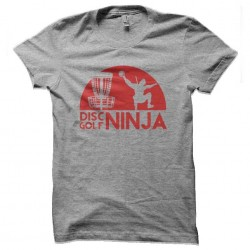tee shirt disc golf ninja...