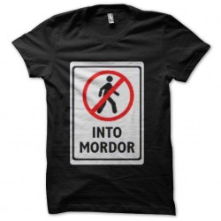 shirt into mordor tolkien...