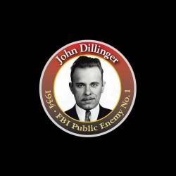 tee shirt john dillinger fbi enemy public sublimation