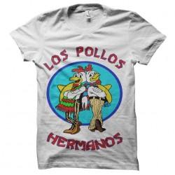 shirt los pollos hermanos full logo sublimation