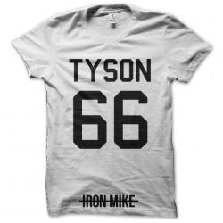tee shirt tyson 66 iron man sublimation