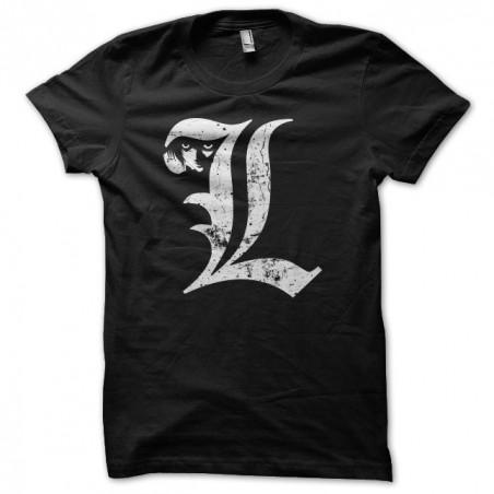 Tee shirt manga Death Note symbol grungy  sublimation