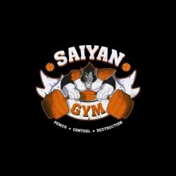 sayan gym shirt dragon ball sublimation
