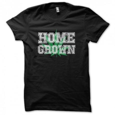 Home Grown black sublimation cannabis t-shirt