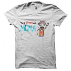 tee shirt cerveau vs mdma sublimation
