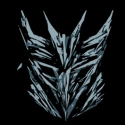 Transformers 2 symbol black sublimation t-shirt