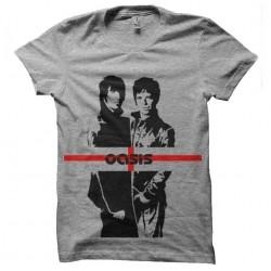 tee shirt oasis trame pop...