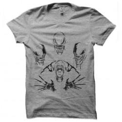 tee shirt alien evolution...