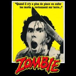 shirt Zombie Romero black sublimation