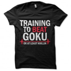 shirt training to beat goku...