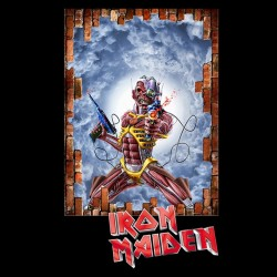 Iron Maiden Somewhere in time sublimation shirt