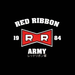 army red ribbon shirt japanese version sublimation