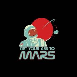 shirt travel on mars humor sublimation