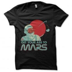 tee shirt voyage sur mars...