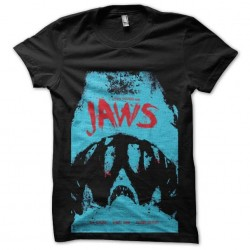 jaws shirt weave the teeth...