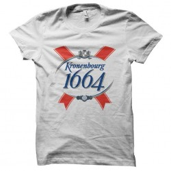 tee shirt biere 1664 kronembourg sublimation