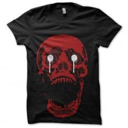 shirt red skull horror show...