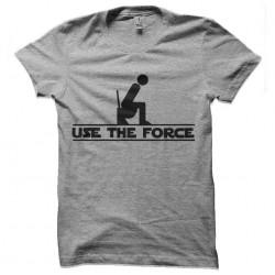 tee shirt use the force...