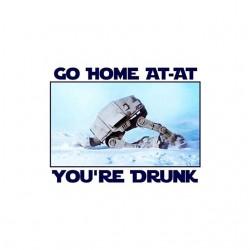 tee shirt at-at drunk star...