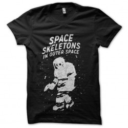 shirt space skeleton...