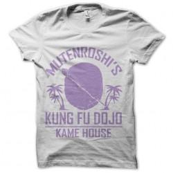 shirt mutenroshi kung fu dojo dragon ball sublimation
