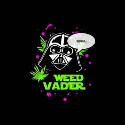 vader shirt and the weed sublimation