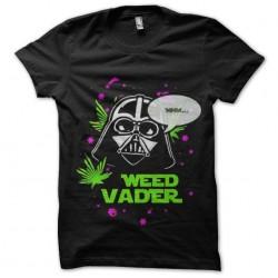 vader shirt and the weed...