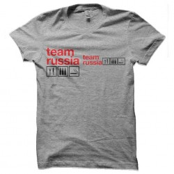 tee shirt team russia alcool sublimation