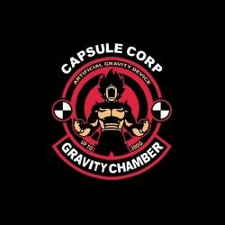 tee shirt capsule corp gravity dragon ball sublimation