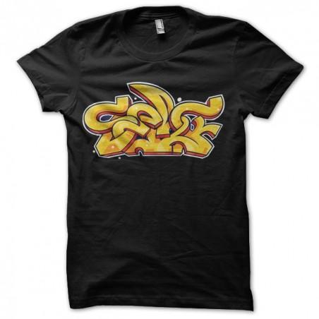 T-shirt graffiti black sublimation