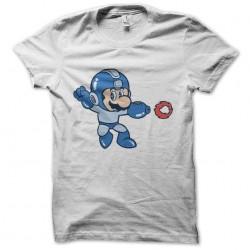 megaman shirt is mario bros sublimation