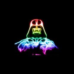 dark shirt vador neon sublimation