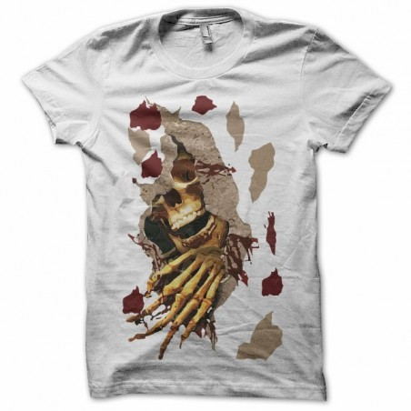 Bloody white sublimation t-shirt
